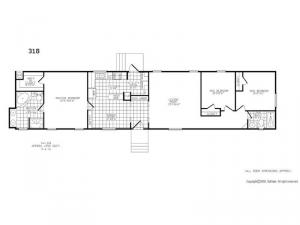 Single Section 318 Floorplan Image