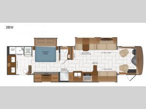 Discovery 38W Floorplan Image