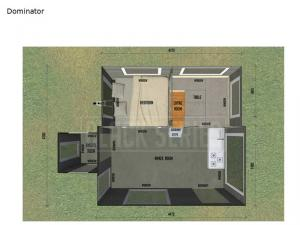 Black Series Camper Dominator Floorplan Image