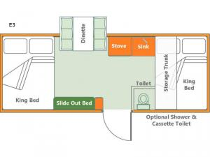 Somerset Evolution E3 Box Floorplan Image