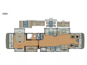 Berkshire XL 40BH Floorplan Image