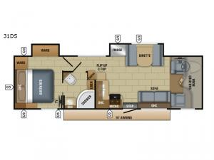 Greyhawk 31DS Floorplan Image