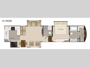 Mobile Suites 41 RKDB Floorplan Image