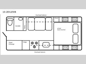 Limited Edition 10-2EXLEWB Floorplan Image