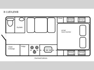 Limited Edition 8-11EXLEWB Floorplan Image