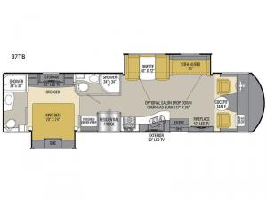 Mirada Select 37TB Floorplan Image