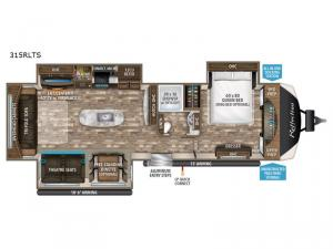 Reflection 315RLTS Floorplan Image