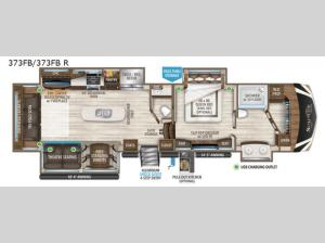 Solitude 373FB R Floorplan Image