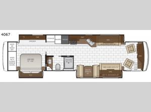 Kountry Star 4067 Floorplan Image