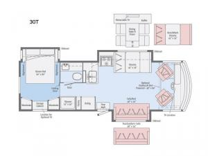 Sunstar LX 30T Floorplan Image
