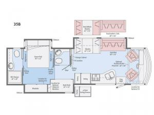 Sunstar LX 35B Floorplan Image