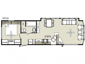 Quailridge 39FLSB Floorplan Image