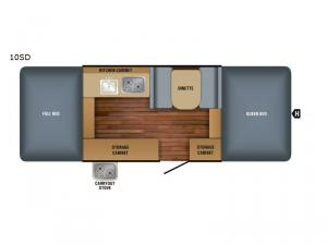 Jay Series Sport 10SD Floorplan Image