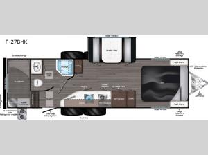 Falcon F-27BHK Floorplan Image