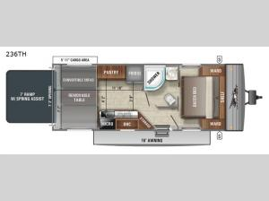 Jay Flight SLX 8 236TH Floorplan Image