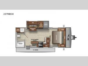 Jay Flight SLX Western Edition 237RBSW Floorplan Image