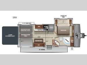 Jay Flight Octane 255 Floorplan Image
