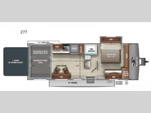 Jay Flight Octane 277 Floorplan Image