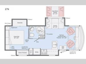 Sunstar LX 27N Floorplan Image