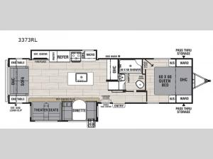 Northern Spirit Ultra Lite 3373RL Floorplan Image