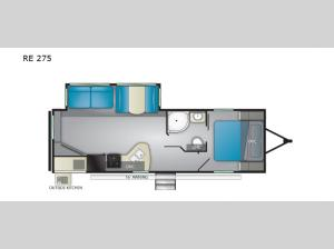 Pioneer RE 275 Floorplan Image