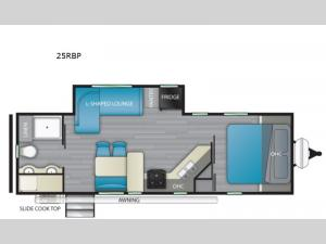 North Trail 25RBP Floorplan Image