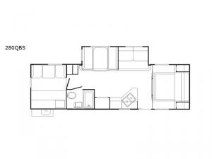DREAM 280QBS Floorplan Image