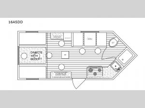 Big Bite 16ASDD Floorplan Image