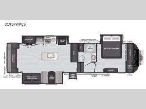 Sprinter 3190FWRLS Floorplan Image