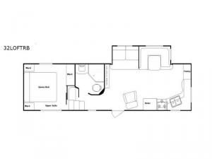 Riverside 32LOFTRB Floorplan Image