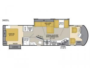 Sportscoach Cross Country SRS 360DL Floorplan Image