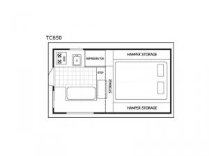 Northstar Pop-Up TC650 Floorplan Image