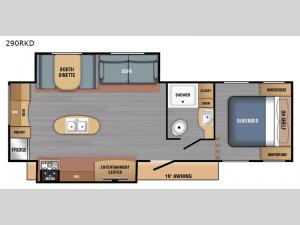 BX Series 290RKD Floorplan Image