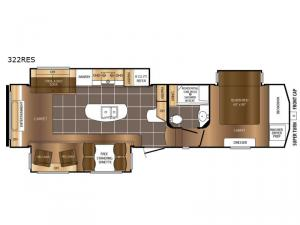 Crusader 322RES Floorplan Image