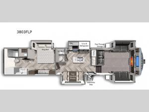 Astoria 3803FLP Floorplan Image
