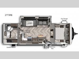 Astoria 2773RB Floorplan Image