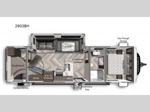 Astoria 2903BH Floorplan Image