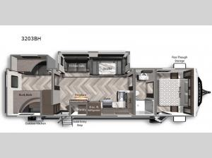 Astoria 3203BH Floorplan Image