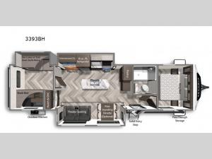 Astoria 3393BH Floorplan Image