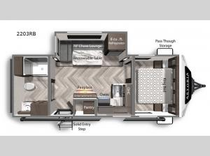Astoria 2203RB Floorplan Image