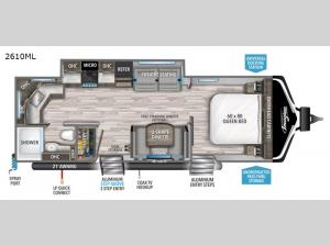 Imagine 2610ML Floorplan Image