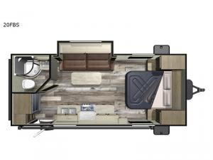 Autumn Ridge Outfitter 20FBS Floorplan Image