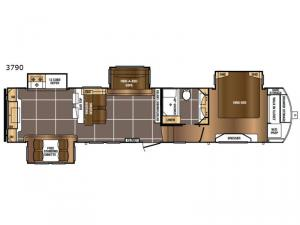 Sanibel 3790 Floorplan Image