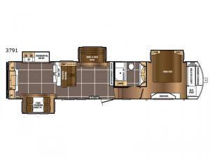 Sanibel 3791 Floorplan Image