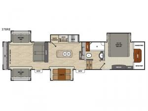Brookstone 378RE Floorplan Image