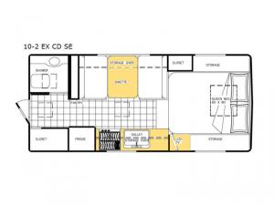 Special Edition Series 10-2 EX CD SE Floorplan Image