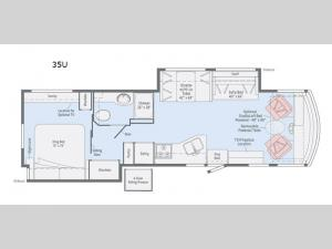Vista 35U Floorplan Image