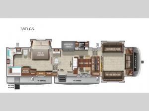 Pinnacle 38FLGS Floorplan Image