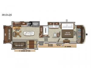 North Point 381DLQS Floorplan Image