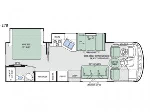 Windsport 27B Floorplan Image